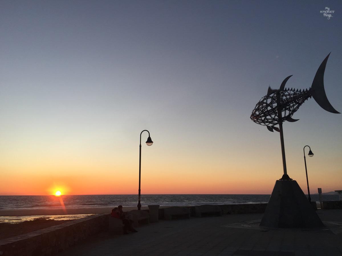 Viaje a Andalucía · Puesta de sol en Tarifa, Cádiz · Via www.sweethings.net