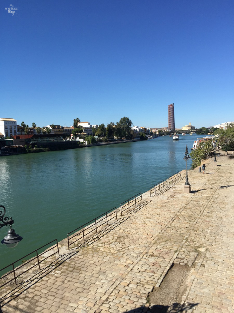 Viaje a Andalucía · Río Guadalquivir, Sevilla · Via www.sweethings.net