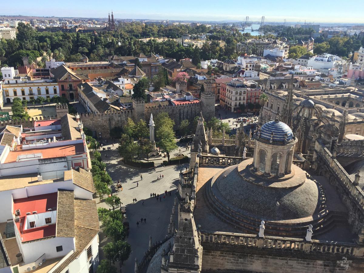 Viaje a Andalucía · Vistas desde la Giralda, Sevilla · Via www.sweethings.net