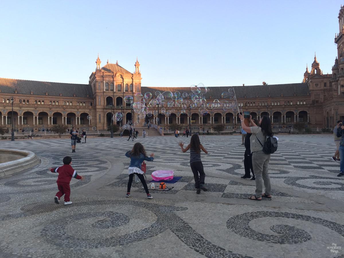 Viaje a Andalucía · Plaza de España, Sevilla · Via www.sweethings.net