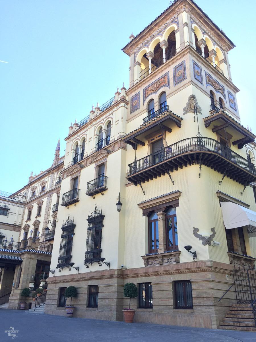 Viaje a Andalucía · Hotel Alfonso XIII, Sevilla · Via www.sweethings.net