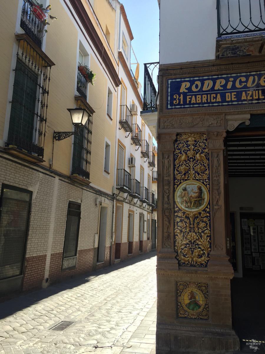 Viaje a Andalucía · Cerámica en Triana, Sevilla · Via www.sweethings.net
