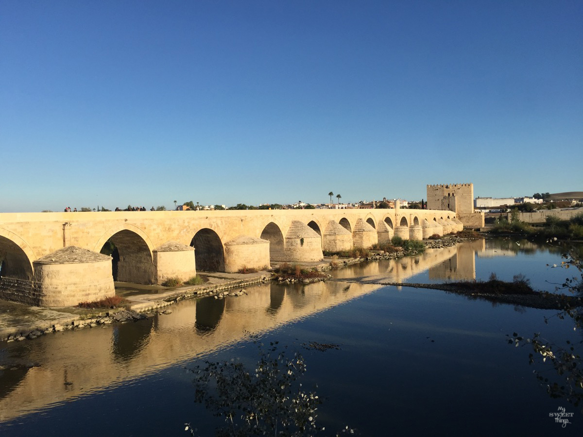 Viaje a Andalucía · Puente romano de Córdoba · Via www.sweethings.net