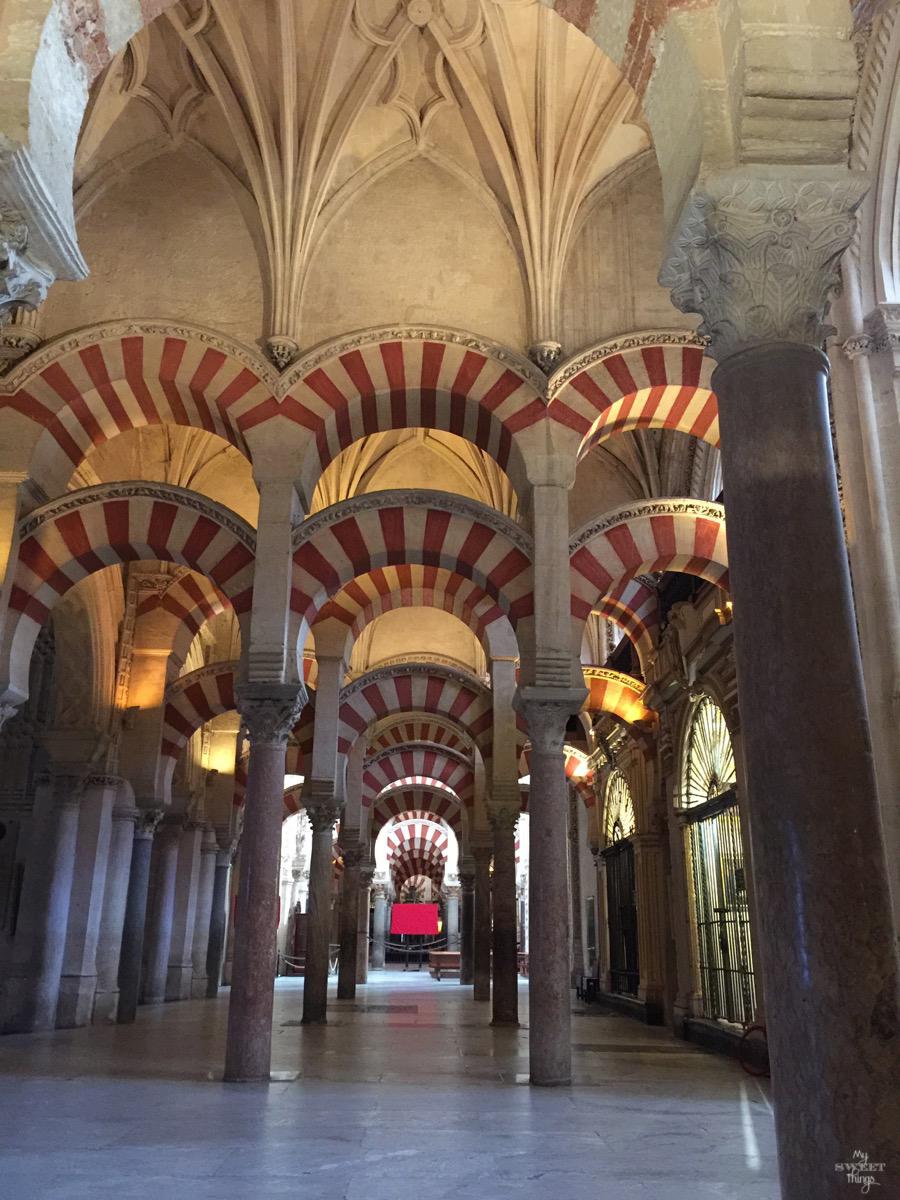 Viaje a Andalucía · Interior Mezquita de Córdoba · Via www.sweethings.net