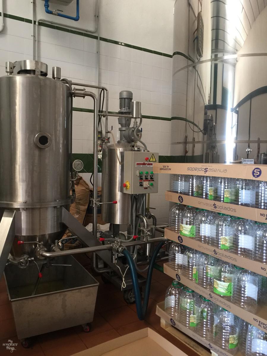 Viaje a Andalucía · Fábrica de aceite en Jaén · Via www.sweethings.net