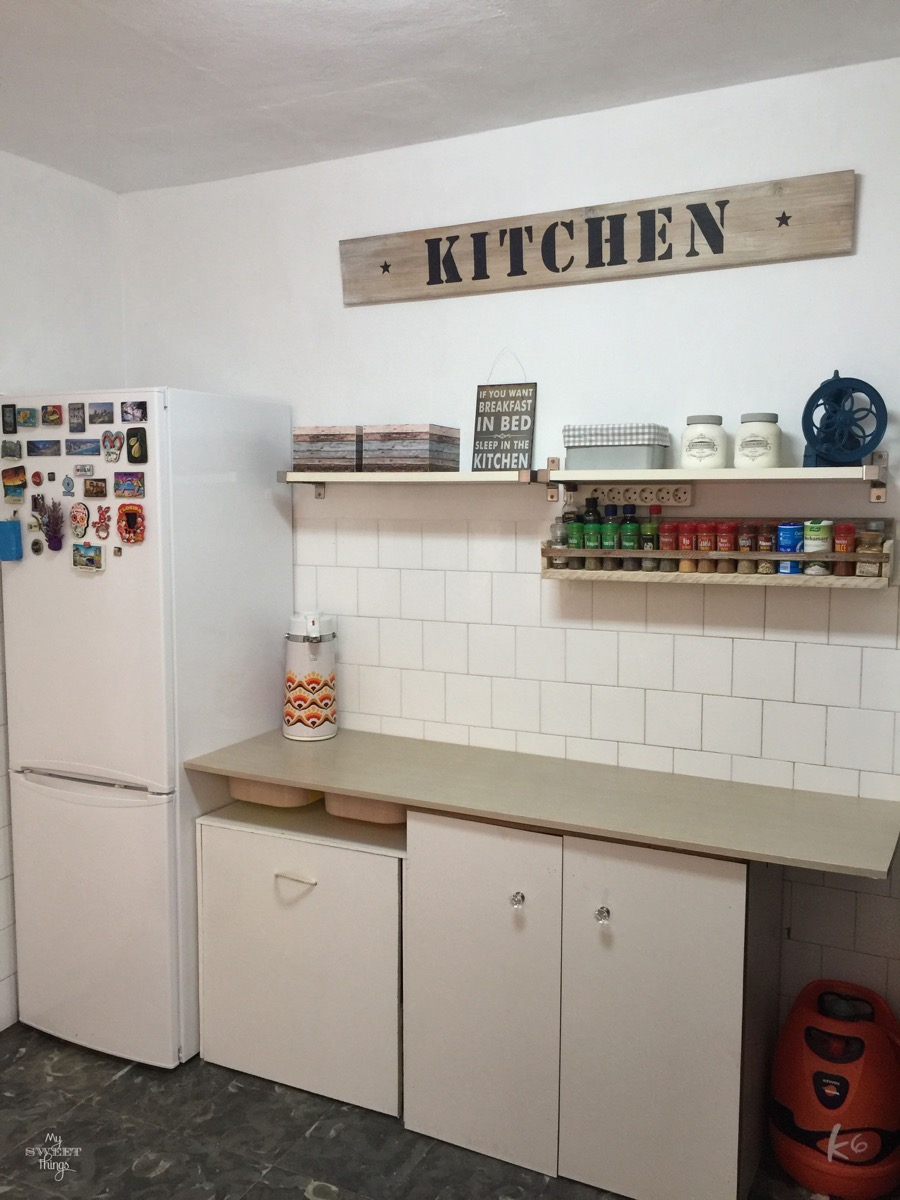 DIY Kitchen Makeover On a Budget • By My Sweet Things
