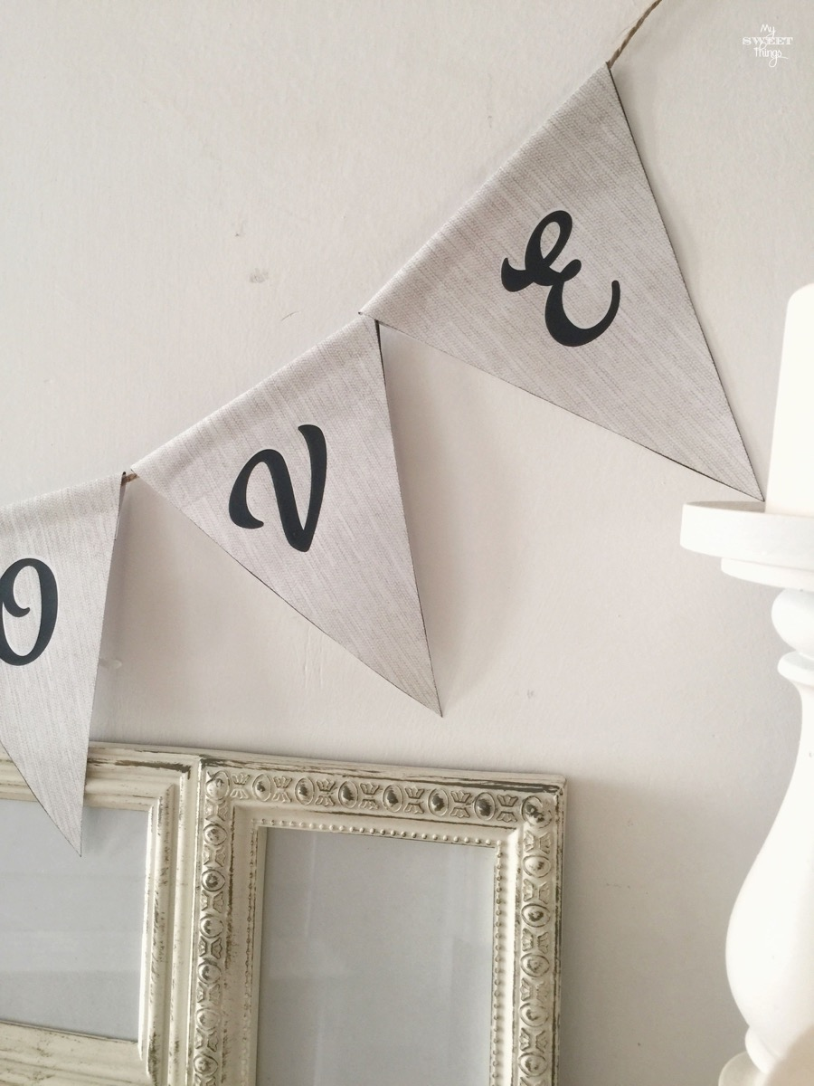 Home Decor - Paper Pennant Banner Garland · Via www.sweethings.net 7.jpg
