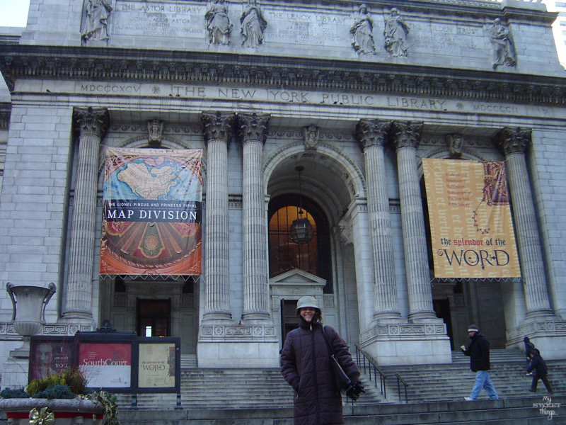 4 Must-See Spots In the US · The New York Public Library · Via www.sweethings.net