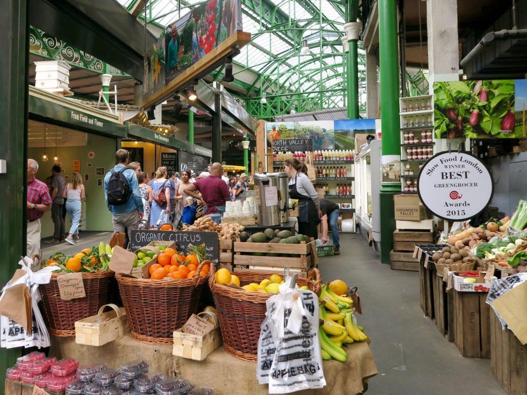 Guide to London · Borough Market London · Via www.sweethings.net