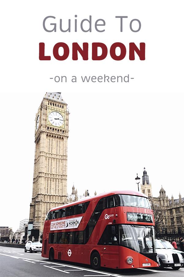 Guide to London · Via www.sweethings.net