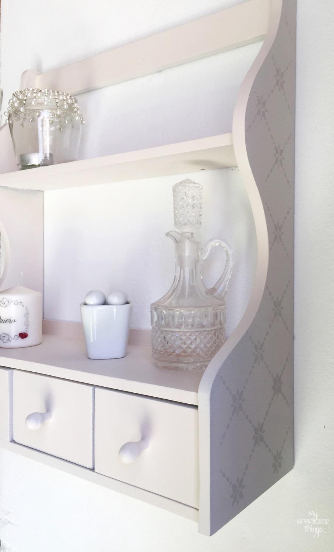 Especiero con stencil · Materiales para manualidades y DIY · Vía www.sweethings.net