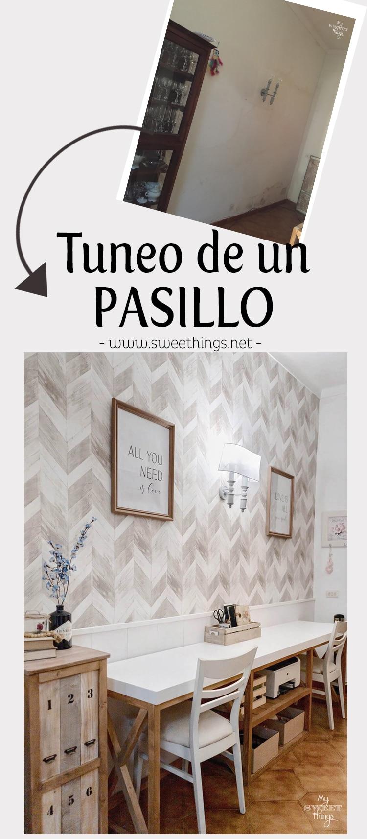 Tuneo de un pasillo · Via www.sweethings.net