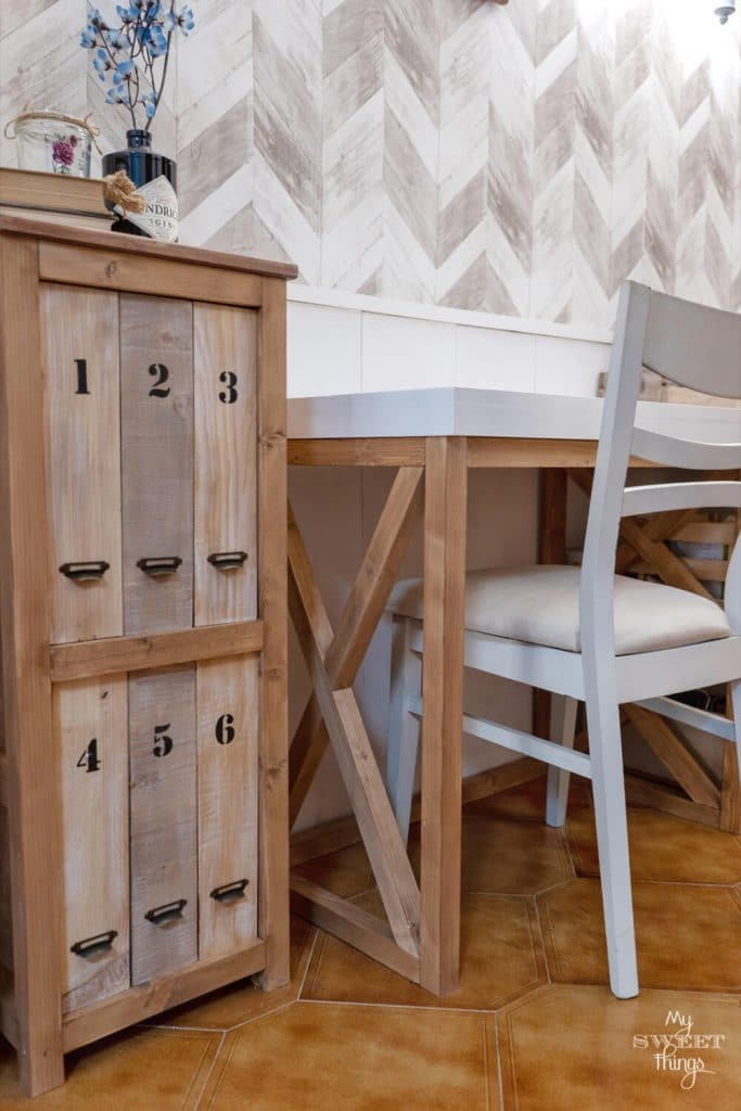 Mueble archivador DIY · Via www.sweethings.net